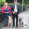 "Familie Kruse mit ""Senta und Arthos"""